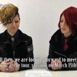 exist†trace American Tour Video Comment