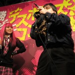 "Dazzle Vision judges ""Death Voice"" contest in Shibuya"