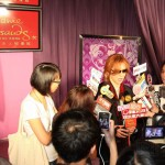 Yoshiki unveils wax figure in Madame Tussauds Hong Kong