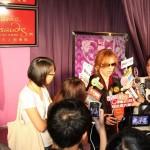 Yoshiki unveils wax figure in Madame Tussauds Hong Kong
