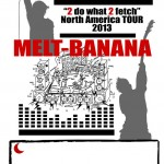 Melt-Banana – 2013 North America tour dates announced