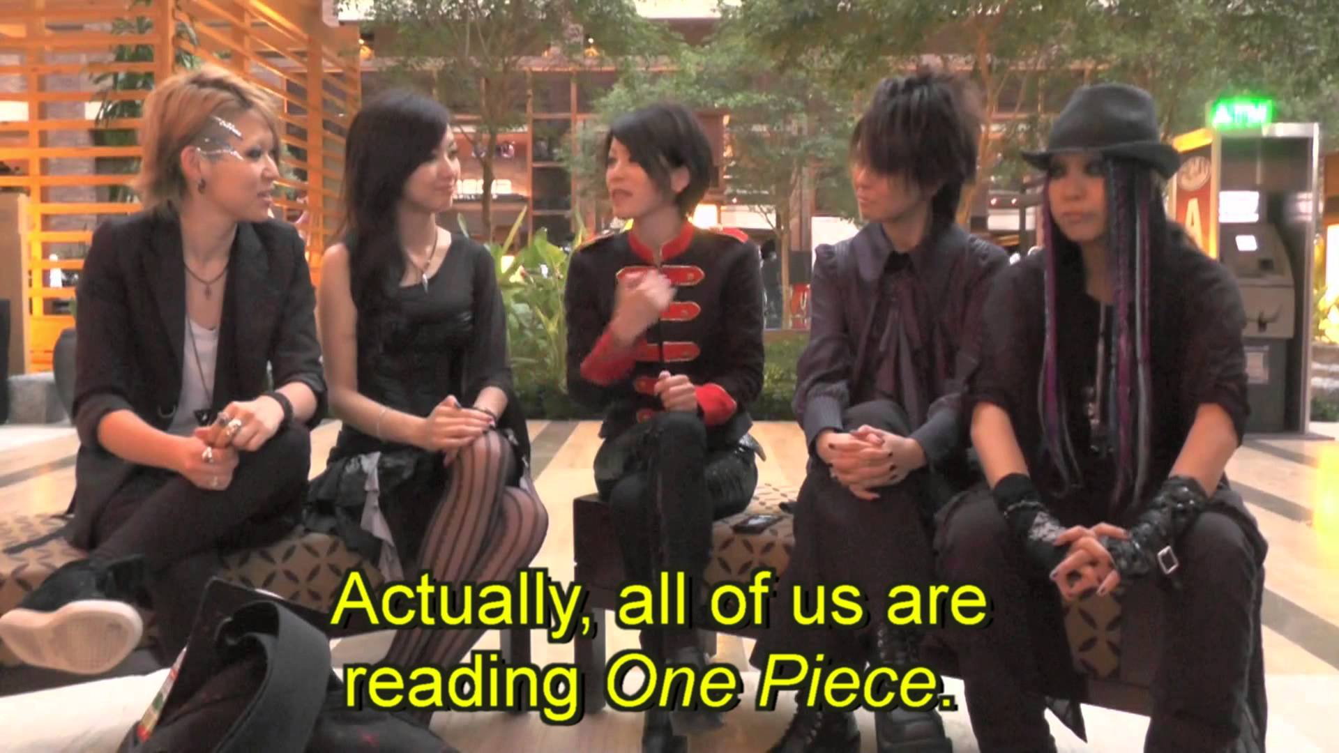 exist†trace Anime comment video at A-Kon 2013