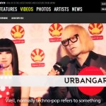 URBANGARDE interview from Japan Expo on MTV 81