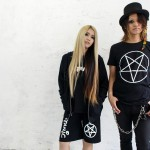 "KiLLKiLLS Dai and Ery model for Stand Up!! The Fragile's new ""Satanic"" fashion line"
