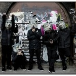 "Man with a Mission shoots ""Evils Fall"" video in L.A."