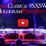 Yoshiki battles himself via Hologram at SXSW