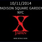 X Japan to perform at Madison Square Garden in October 2014