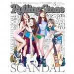 SCANDAL hits the cover of Rolling Stone Japan