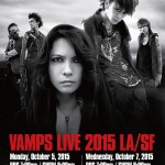 Reminder: VAMPS hits California in October