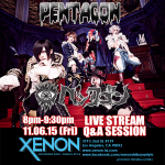 Visual Kei band PENTAGON to livestream from L.A.'s XENON