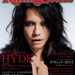 VAMPS' HYDE rocks the cover of Rolling Stone Japan