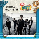Coldrain announced as part of Vans Warped Tour 2016 line-up
