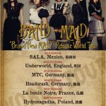 BAND-MAID announces new single, additional Europe tour dates