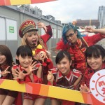 Gacharic Spin reveals new costumes at Gold Summer Stadium