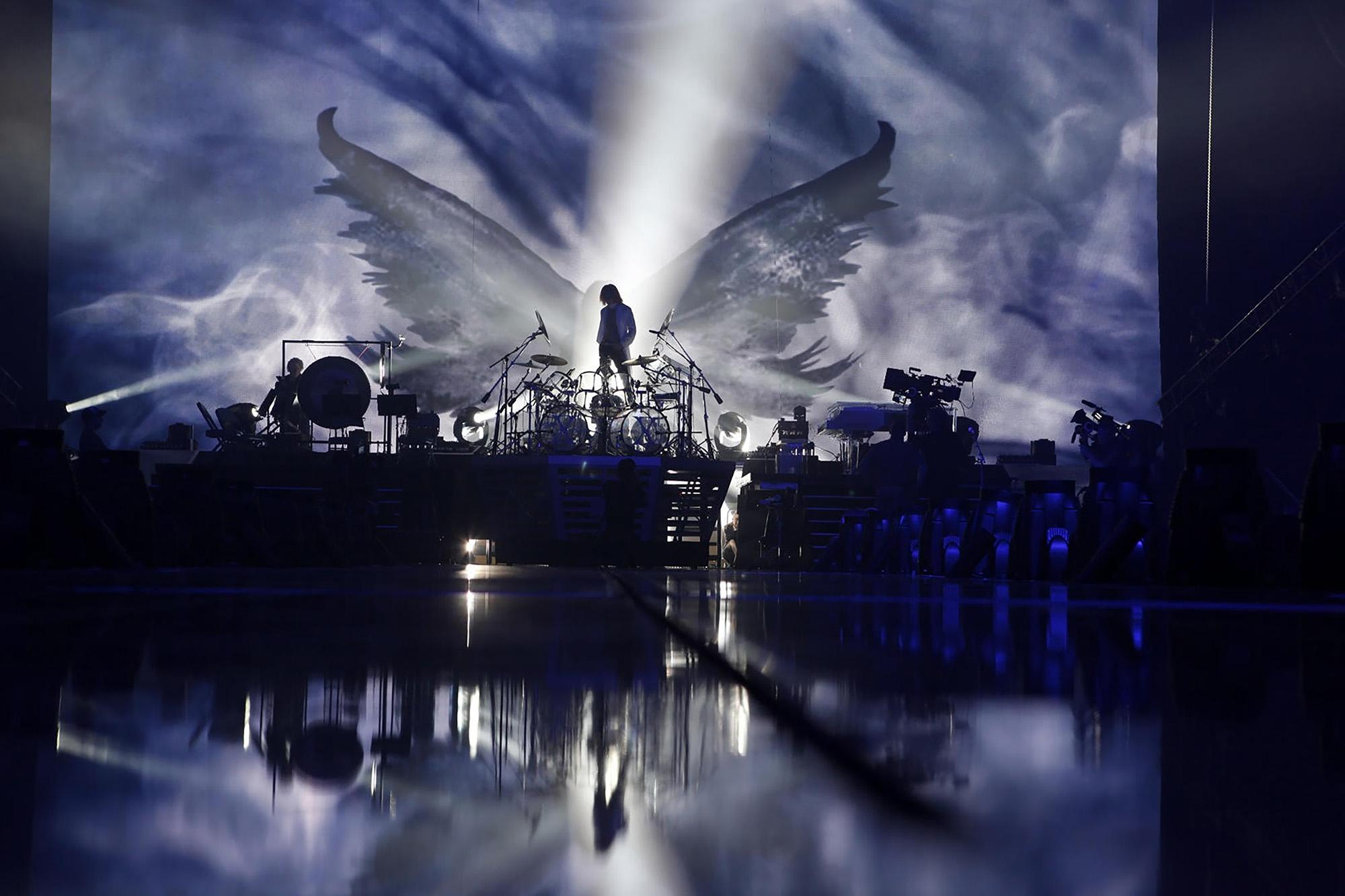 X JAPAN rehearsing in NJ