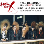 X Japan fans to rock We Are X NYC premiere in Visual Kei fashion contest