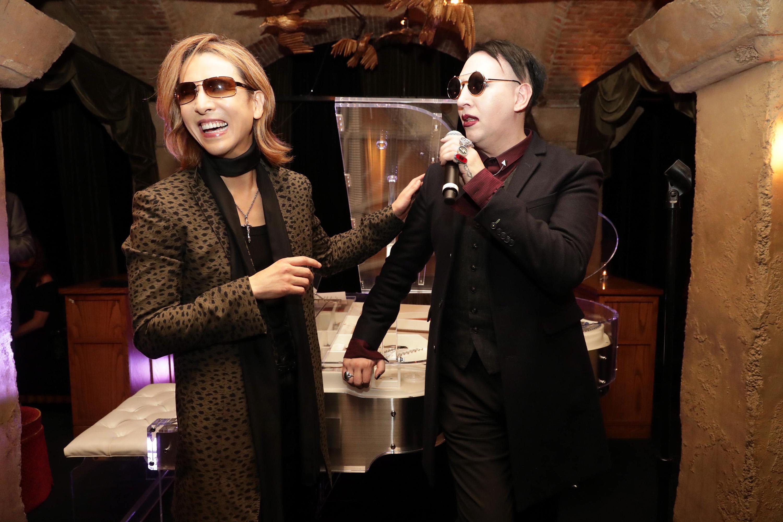 Yoshiki, Marilyn Manson