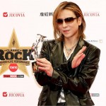 Yoshiki wins Asian Icon Award at Classic Rock Awards in Tokyo