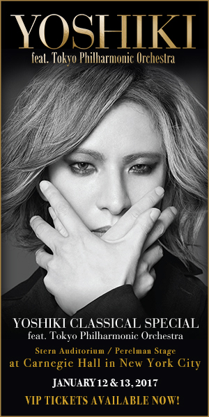 Yoshiki Classical at Carnegie Hall