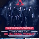 X Japan reveals Wembley Arena VIP packages and exclusive film cut