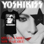 Yoshiki reveals special collaboration YOSHIKISS T-Shirt