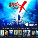X Japan film WE ARE X breaks into Top 3 iTunes Documentary chart