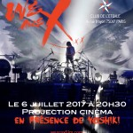 Yoshiki to visit Paris for We Are X premiere events