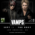 VAMPS will headline L.A.'s Roxy Theater in September