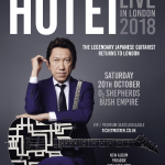 Tomoyasu Hotei announces first London show in 3 years for late 2018