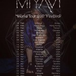 MIYAVI launches Firebird World Tour 2017