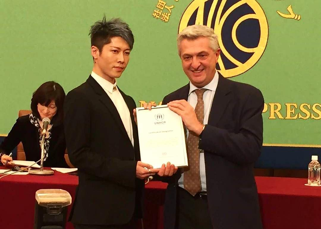 JRock247-Miyavi-UNHCR-Japan-Ambassador-2017-1