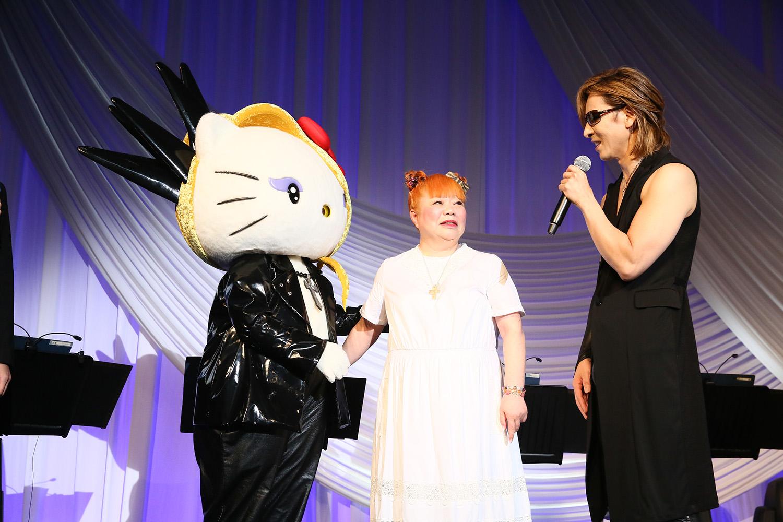JRock247-Yoshiki-Dinner-Show-5th-Anniversary-2018-G-Yoshikitty-Yuko-Yamaguchi