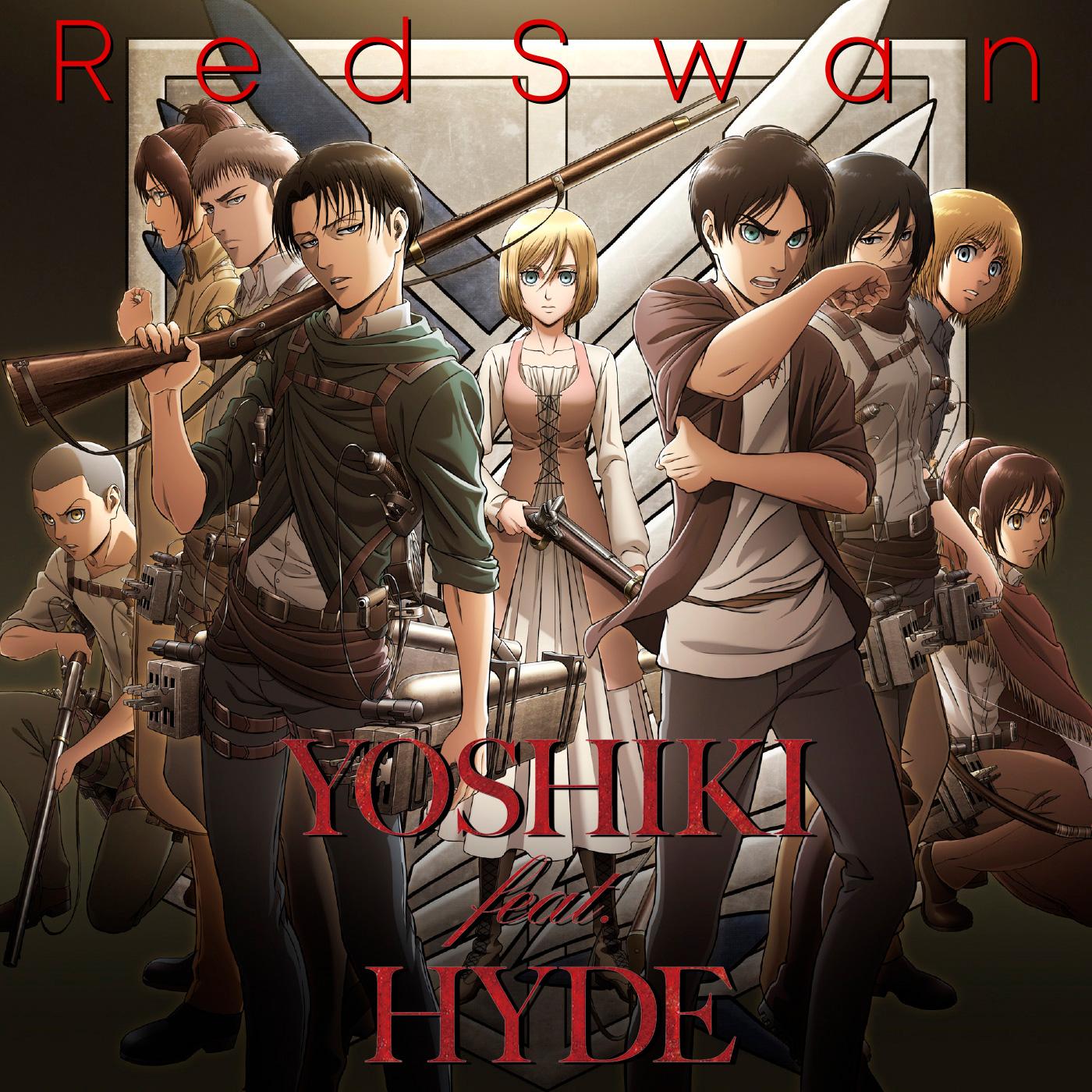 JRock247-Yoshiki-feat-Hyde-Attack-on-Titan-Red-Swan-promo1