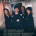 ALEXANDROS bracket U.S. with east coast, midwest tour