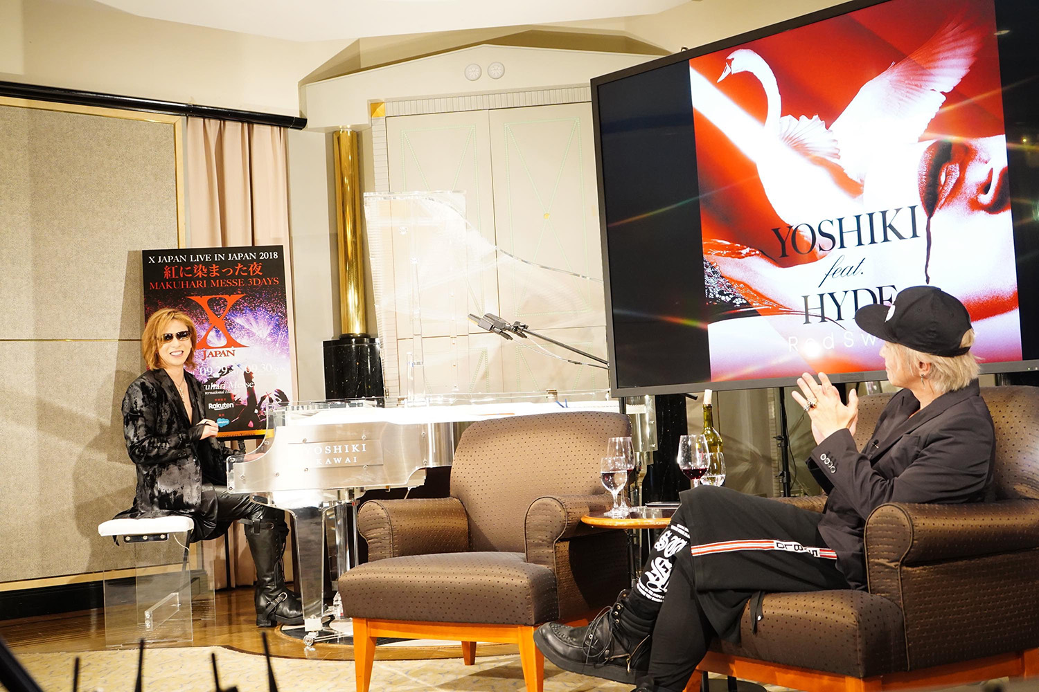 JRock247-Yoshiki-Hyde-Red-Swan-Music-Station-20180917-J0647
