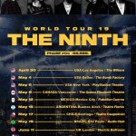 the GazettE releases dates for 2019 world tour THE NINTH