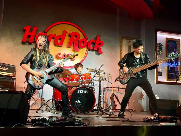 ASTERISM at Hard Rock Cafe in Tianjin, China (2019)